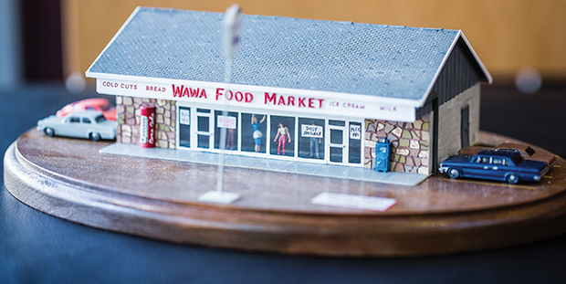 Model Of The First Wawa In Folsom Pa Built In 1964