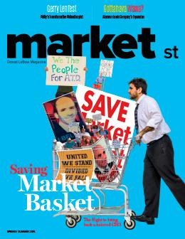 Market Street Magazine Spring/Summer 2015 Cover