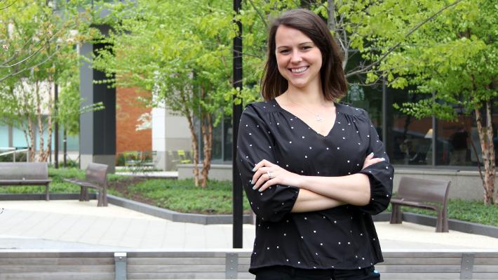 PhD Candidate Blythe Rosikiewicz