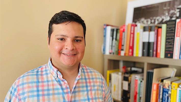 Oscar Camacho, PhD candidate in economics