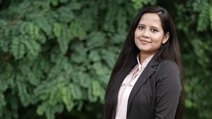 Nomalia Manna, PhD candidate in Finance