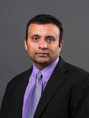 Headshot of Samir Shah