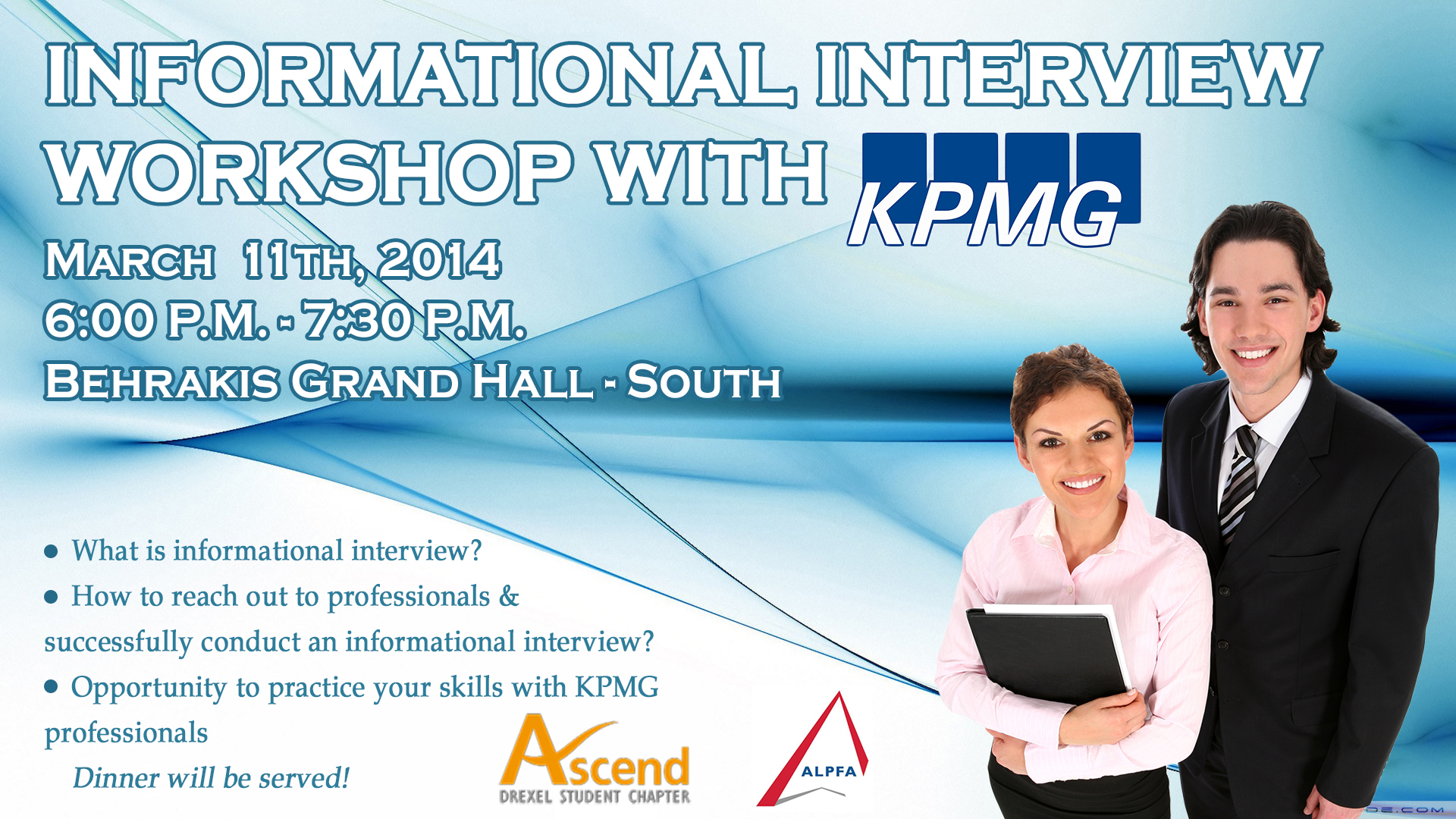 networking workshop with kpmg  co