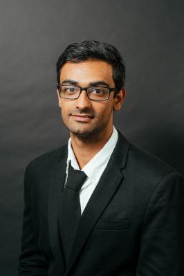 Headshot of Arjun Arora