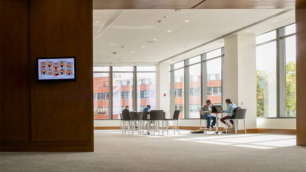 Lebow Collaboration Room Reservation