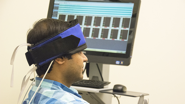 Person and research with neurological device