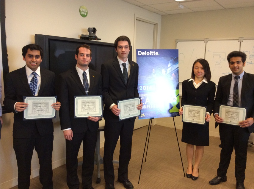Deloitte Consulting 3rd Annual Case Competition Drexel Lebow