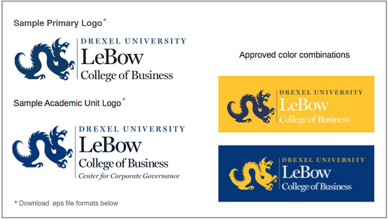 LeBow Logos