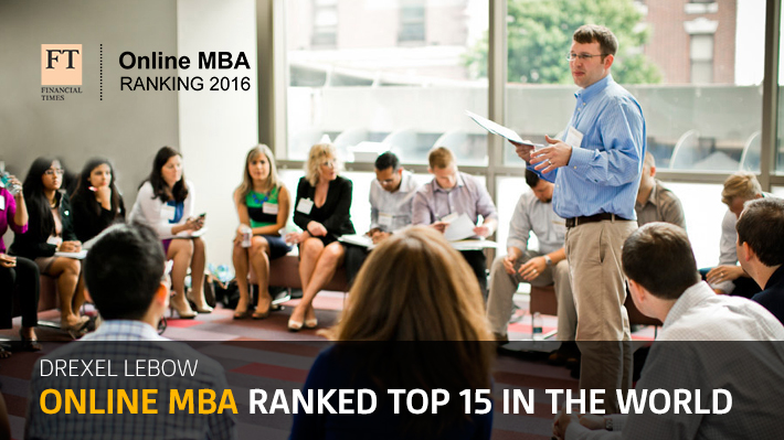 Online MBA Ranked 15th in the World
