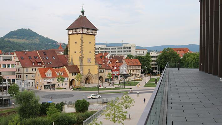cityscape of Reutlingen University