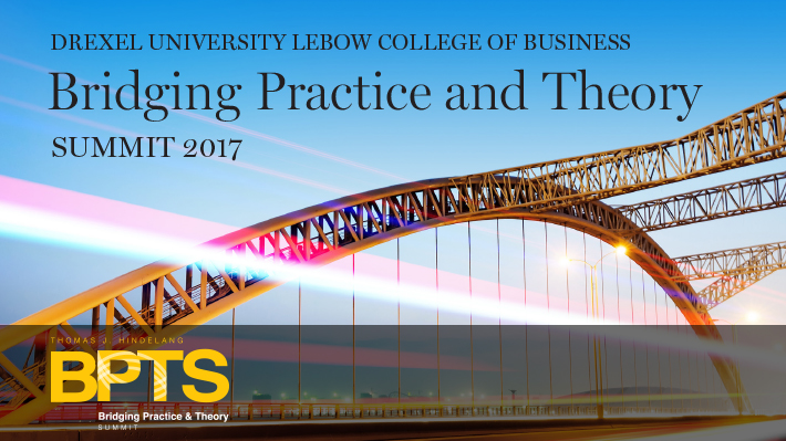 Bridging Practice and Theory Summit 2017