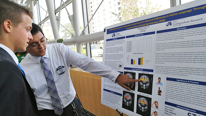 STAR Scholar Presenting Research Findings