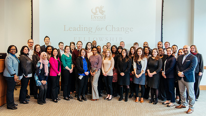 Leading for Change Fellowship Cohort 3 with Mayor Kenney