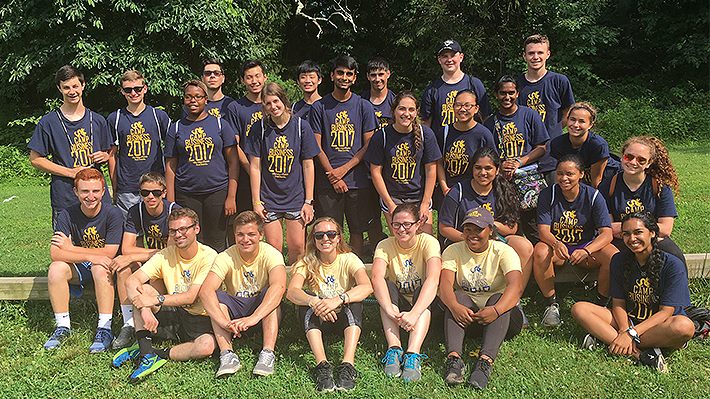 Students in Drexel's Camp Business program