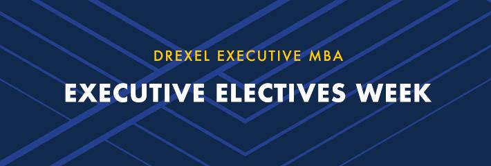 Executive Electives Week