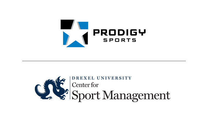 Drexel University Center for Sport Management and Prodigy Sports Logos