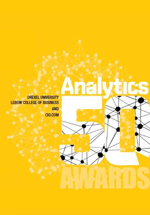 Analytics 50 Program Brochure Cover