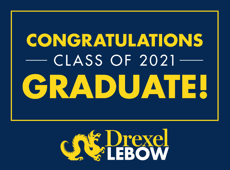 Thumbnail of Lawn Sign for 2021 Graduates