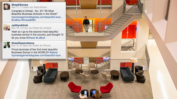 LeBow Ranked Second Most Beautiful Business School