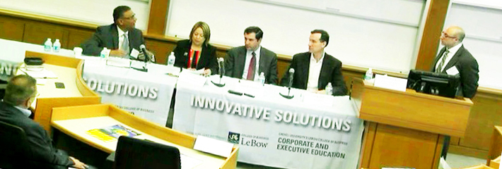 Executives from IBC, Christiana Care Health System, United Healthcare and Comcas