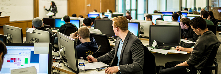 Experiential Learning Course in Trading Lab