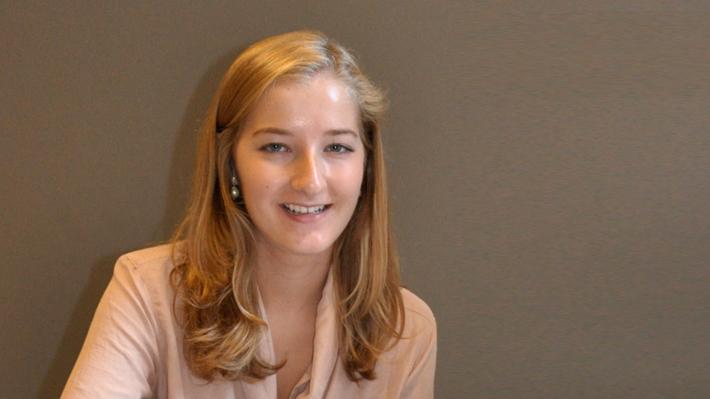 Undergraduate Student Mathilde Berger