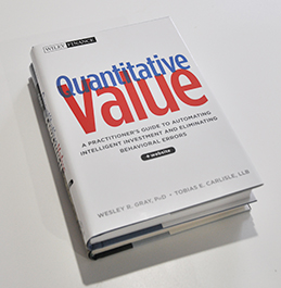 Gray's book Quantitative Value – A Practitioner's Guide to Automating Intelligen