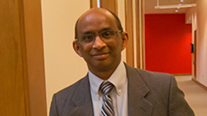 Candid photo of Murugan Anandarajan