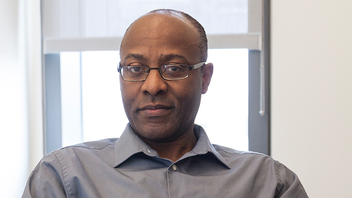 Candid photo of Orakwue B. Arinze