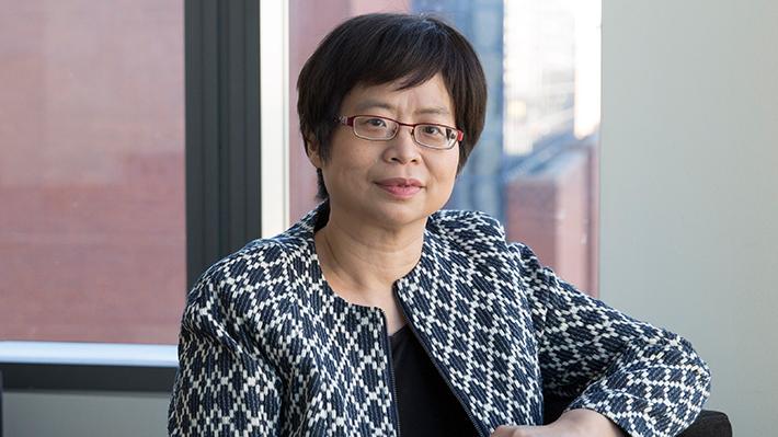 Candid photo of Hiu Lam Choy