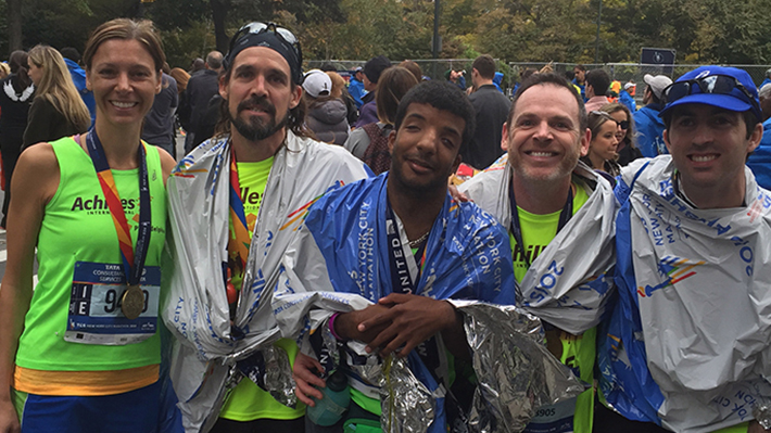 Kinzey Lynch, NYC Marathon