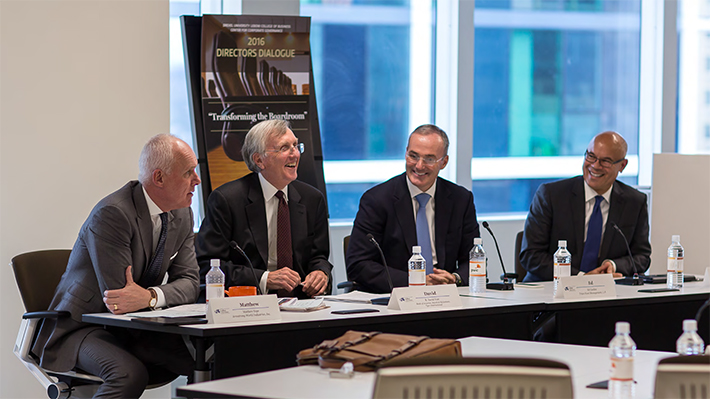 Directors Dialogue Draws Business Leaders to LeBow