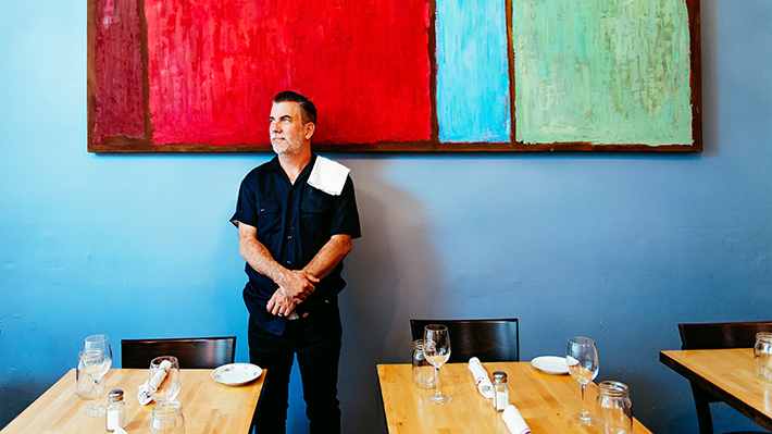 Michael O'Halloran, 2002 MBA Graduate and Chef/Owner of Bistro 7