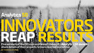Innovators Reap Results (CIO.com/Analytics 50)