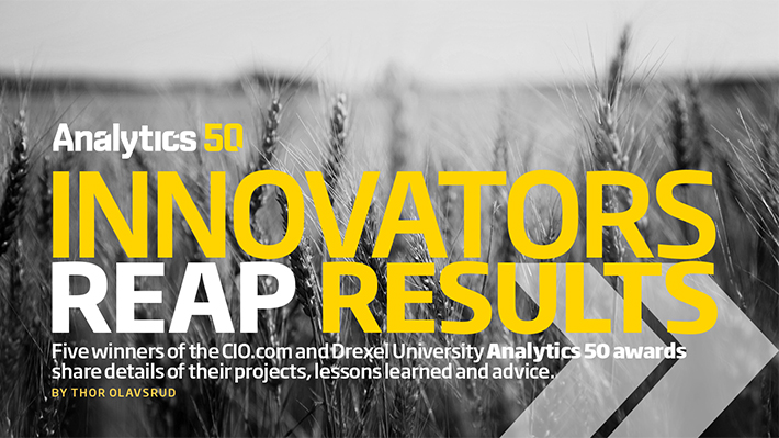 Innovators Reap Results (CIO.com/Analytics 50)