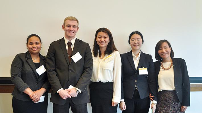 FI3C Winning Team From Lasalle University