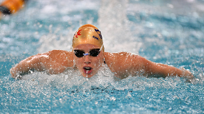 Tanja Kirmse, PhD Student and swimmer