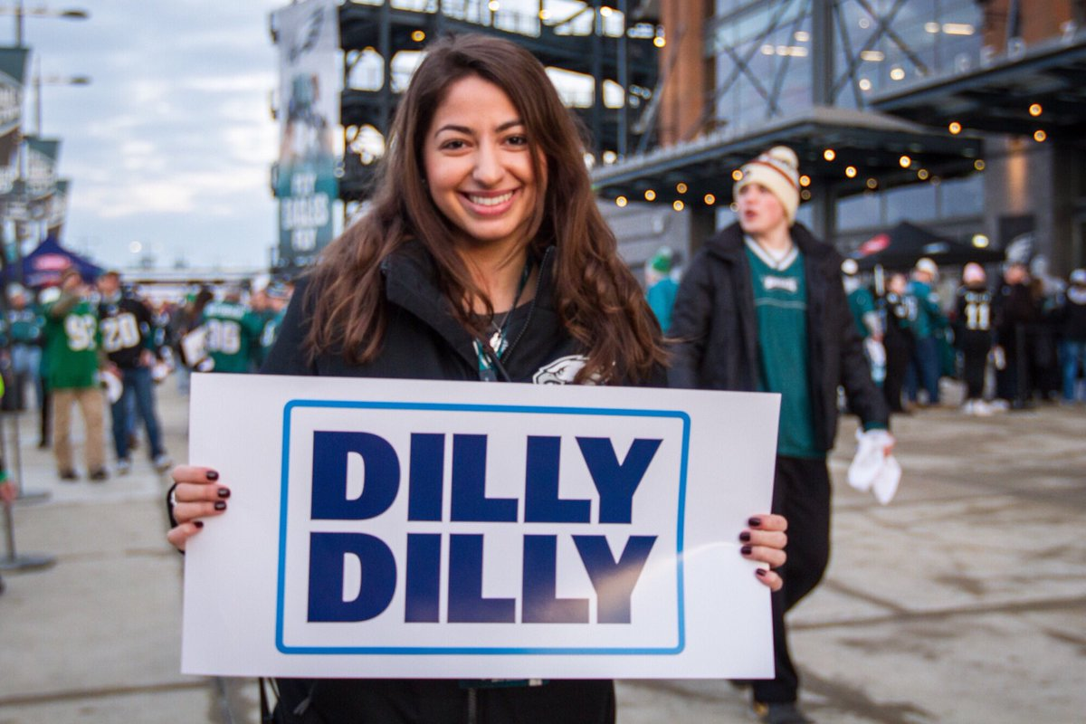 Victoria Louca promotes Dilly Dilly