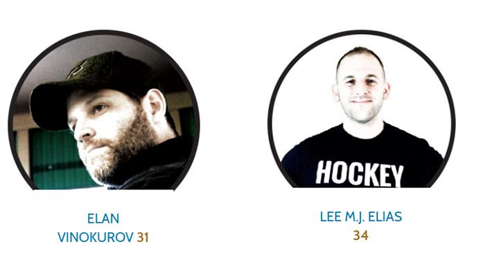 Elan Vinkurov and Lee Elias