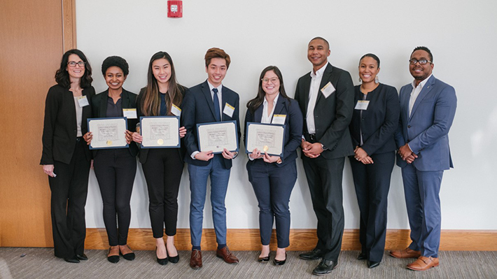 2018 Diversity and Inclusion Case Competition Winners Team SHAH