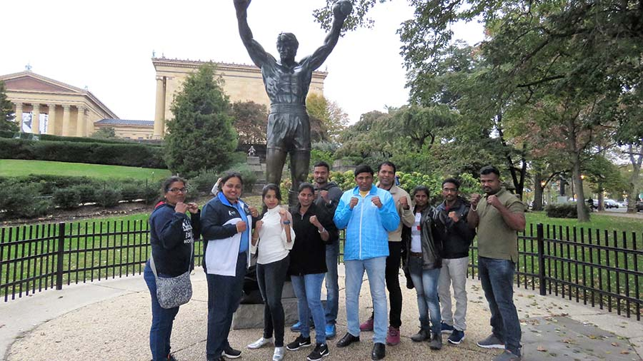 Indian Boxing Delegation