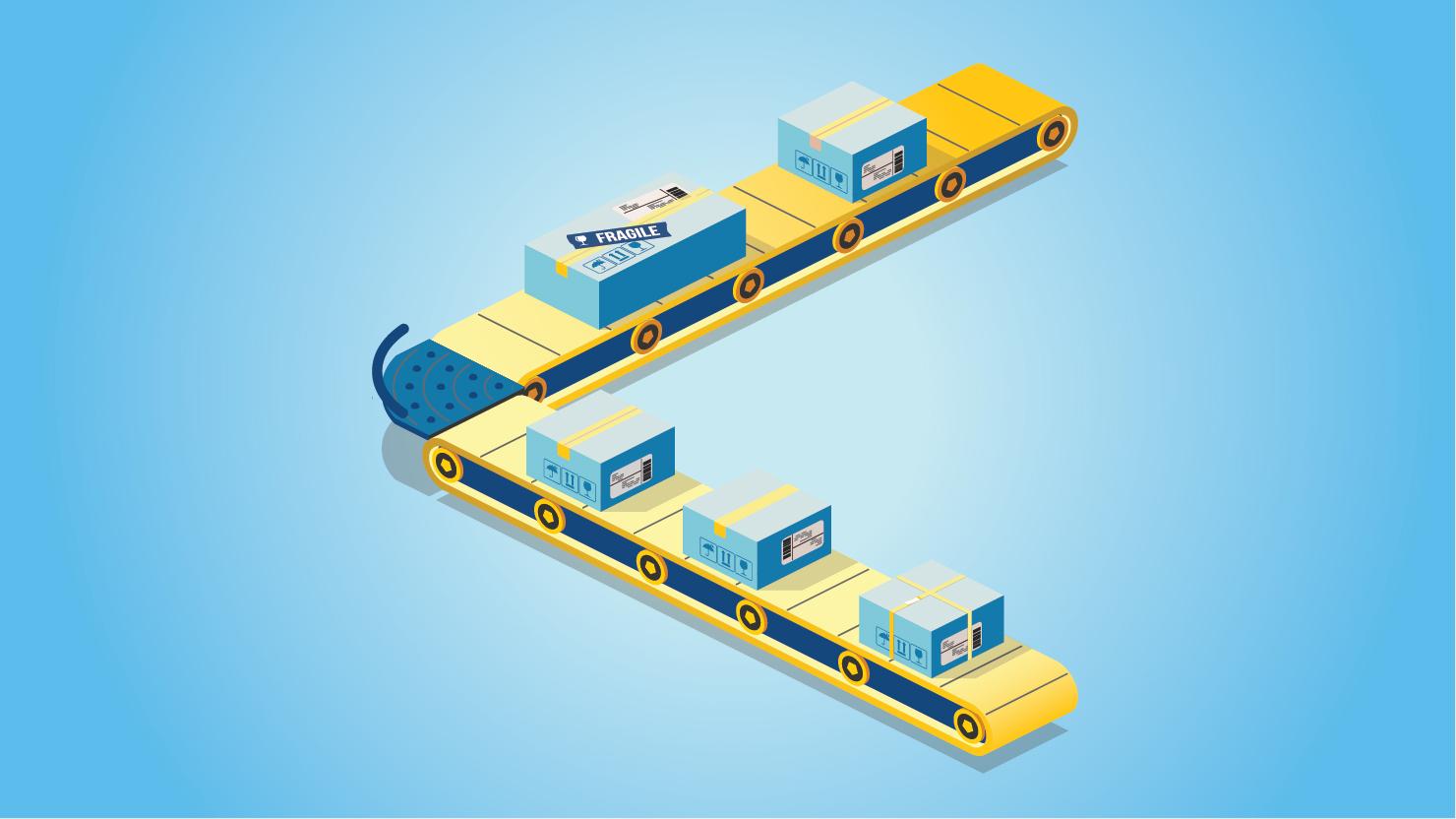 Supply Chain Animation LHVN