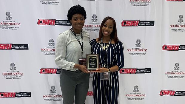 Sport Management Grad Students at CSRI Case Competition