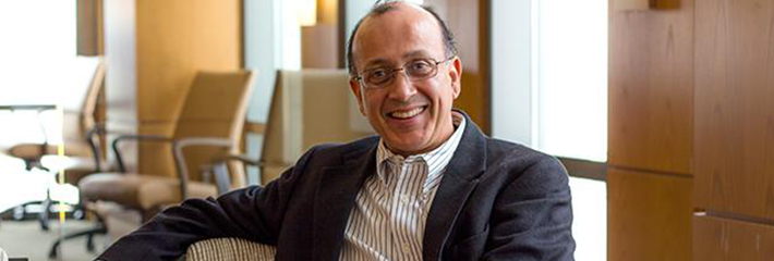 Vibhas Madan, PhD, Dean of the LeBow College of Business