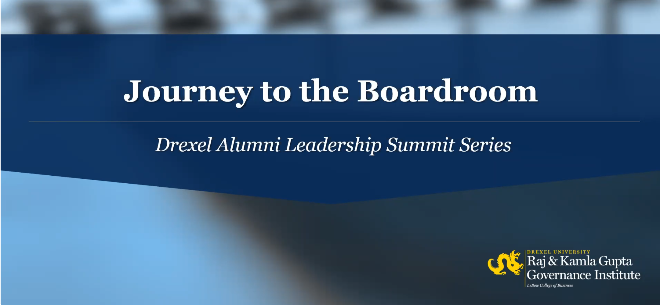 Journey to the Boardroom Graphic
