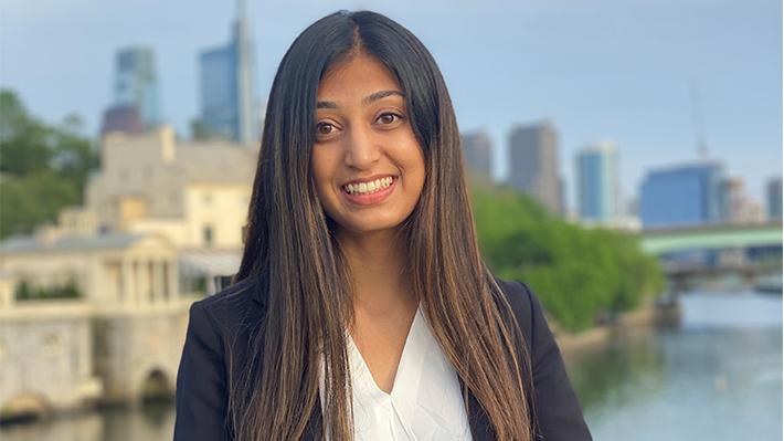 Hiral Patel, LeBow Class of 2021 graduate